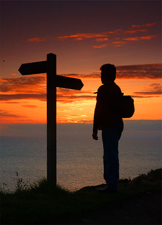 Escoge tu camino, se el amo de tu destino !