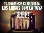Leer nos hará libres.